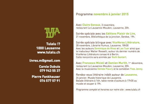 Programme 2014-2015-3
