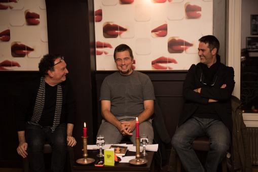 Francesco Micieli, Pierre Fankhauser et Damien Murith