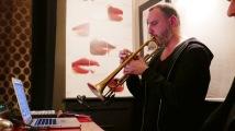 Yannick Barman à la trompette et à l'électronique © Jean-Claude Boré