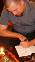 Pierre Fankhauser dédicace son roman Sirius © Jean-Claude Boré