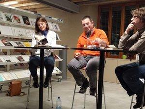 Sonia Baechler, Pierre Fankhauser et Bastien Fournier