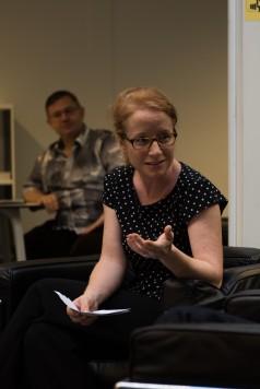 Isabelle Falconnier, déléguée à la politique du livre de Lausanne © Sandra Hildebrandt