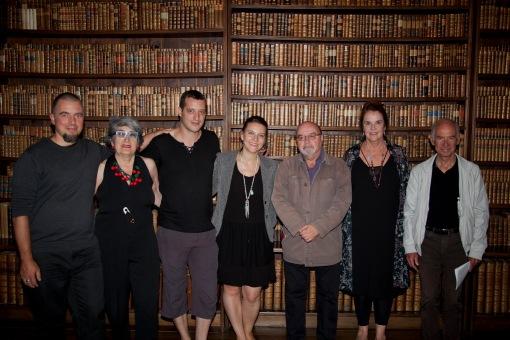 Le comité de Tulalu au château d'Oron