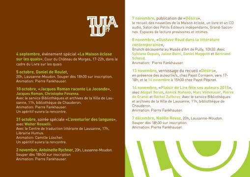 Programme 2015-2016-2