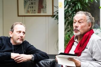 Christophe Fovanna et Jacques Roman © Gustave Deghilage – Ville de Lausanne