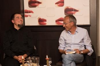 Pierre Fankhauser et Daniel de Roulet © Sandra Hildebrandt