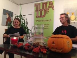 Camille Luscher et Walter Rosselli