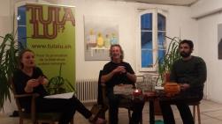 Camille Luscher, Walter Rosselli et Tomas Gonzalez