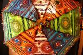 Magnifique ombrelle du Radjasthan © Virginie Tacchini