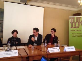 Sylviane Dupuis, Daniel Maggetti et Bertrand Schmid